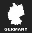 germany map icon flat germany sign symbol on vector image vector image