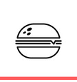 hamburger icon for web or mobile app vector image vector image