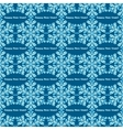 Hand-drawn doodles color snowflake seamless vector image