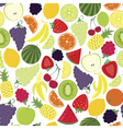 Multifruit pattern vector image vector image