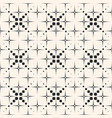 ornamental seamless pattern halftone dotted lines vector image vector image