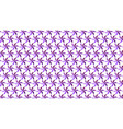 purple geometric background vector image
