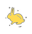 Rabbit icon design