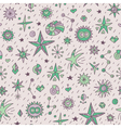 star pattern vector image vector image