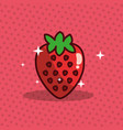 strawberry nutrition diet fresh image vector image