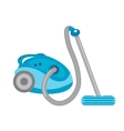 Vacuum cleaner icon flat style isolated on vector image