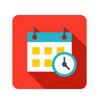 deadline icon vector image