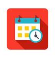 deadline icon vector image vector image