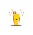 Drink orange juice mbe style logo
