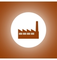 icon of factory vector image