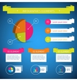 Infographic diagram elements vector image vector image