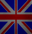 Grunge messy flag kingdom of Great Britain vector image