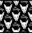 seamless pattern with dogs wrapping paper for vector image