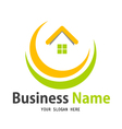 Business home icon logo vector | Price: 1 Credit (USD $1)
