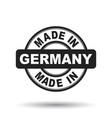 made in germany black stamp on white background vector image