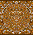 mandala decorative round ornament can be used for vector image
