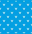 modern bikini pattern seamless blue vector image vector image
