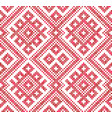 seamless traditional russian and slavic vector image vector image