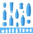 Shampoo Soap Icon set vector image vector image