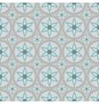 circular floral ornament seamless vector image vector image