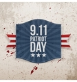 Eleventh September Patriot Day national Tag vector image vector image