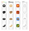food technology production and other web icon in vector image vector image