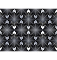 Geometric black and white stripy overlay seamless vector image