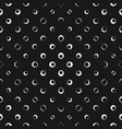 halftone dots bubbles seamless pattern abstract vector image vector image