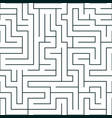 labyrinth seamless pattern vector image vector image