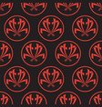 seamless pattern in japanese style sashiko vector image vector image