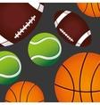 sports training vector image