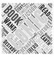 The science fiction of comic books Word Cloud vector image vector image
