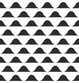 wave pattern print black and white waves vector image