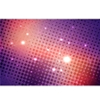 Abstract colorful background with stars vector image vector image