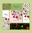 business cards design floral background