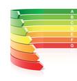 energy efficiency concept vector image vector image