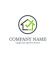 home check secure company logo vector image vector image