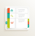 modern design template can be used vector image vector image