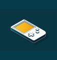 old gadget isometric flat eps10 vector image