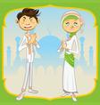 Ramadan Mubarak vector image vector image
