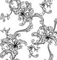 seamless background baroque pattern