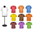 shirts with mannequins vector image vector image