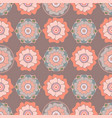 stylized floral seamless pattern in oriental style vector image vector image