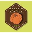 Natural food product g vector image