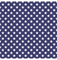 Patriotic white and blue geometric seamless vector image vector image