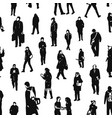 pattern of people vector image