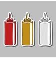 SaucesStickers vector image