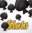 Slots design vector image