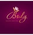 Flower symbol of spa Logo Icon vector image