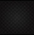 black abstract geometric background seamless vector image vector image